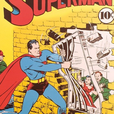 "Notizbuch ""Superman"" - Comic Heft No. 15 & 5"