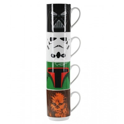 4er Set Tassen - Star Wars