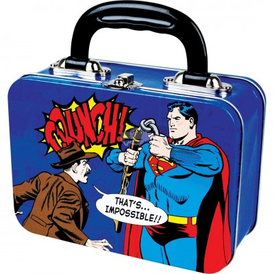 "Blechdose Koffer ""Superman - New"""