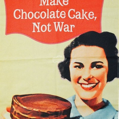 "Geschirrtuch ""Make Chocolate Cake"" - 50s"