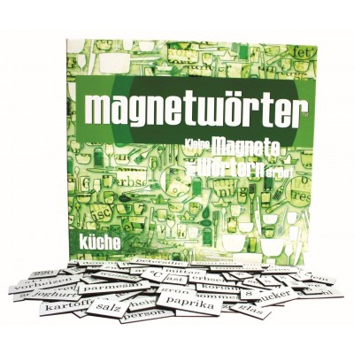 """Magnetwörter """"Küche"""""""