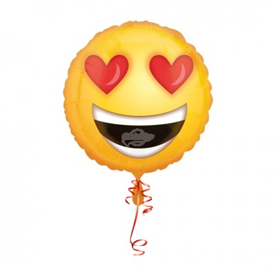 Folienballon ''Love Emoji'' | Heliumballon
