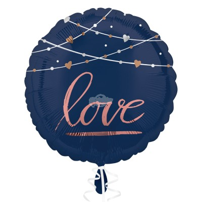 "Folienballon - Navy Wedding ""Love"" 