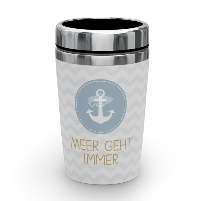"""Thermobecher to go """"Meer immer"""""""