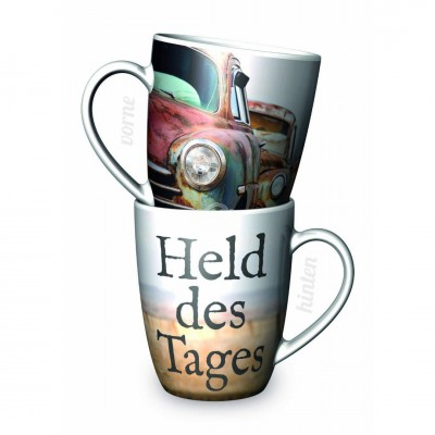 Becher ''Held des Tages''