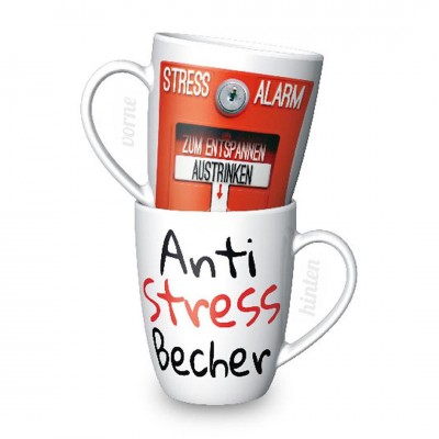 Becher ''Anti Stress''