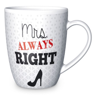"Becher ""Mrs. Right"" 