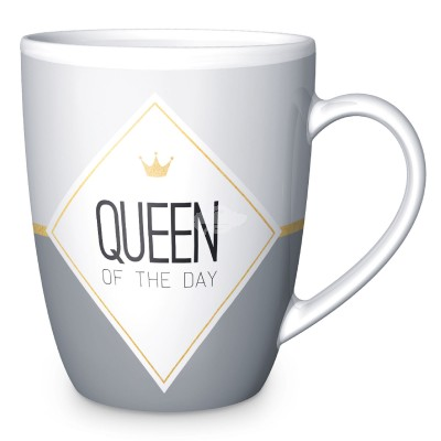 "Becher ""Queen of the Day"" 