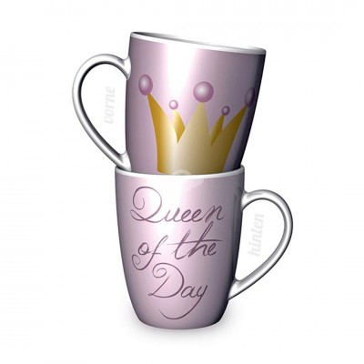 Becher ''Queen of the Day'' / Tasse