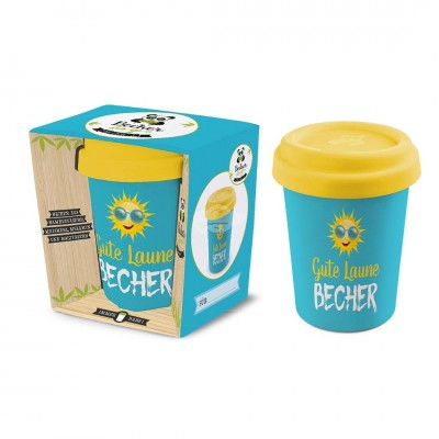 Becher to go Gute Laune (Sonne)