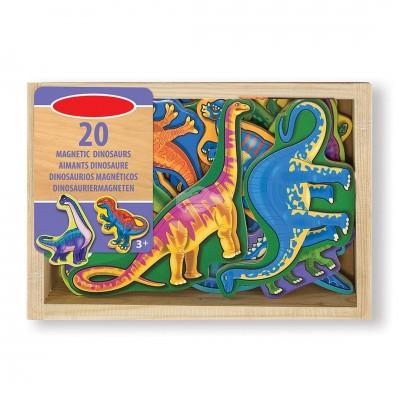 Hölzerne Magneten ''Dinosaurier''