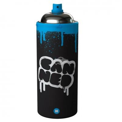 Isolierte Getränkeflasche im Spraydosendesign - Heiß- und Kaltgetränke