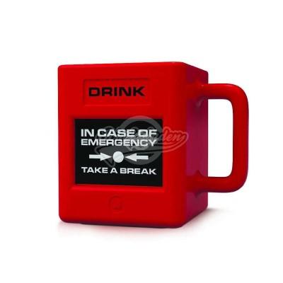 """Kaffeebecher """"Notfall"""""""