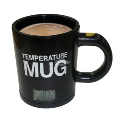 "Becher ""Temperatur"" mit digitaler Temperaturanzeige"