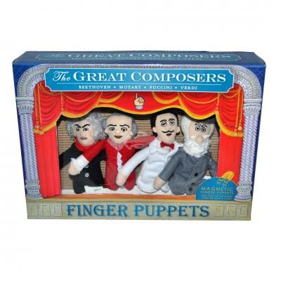 """Fingerpuppen-Set """"Große Komponisten"""""""