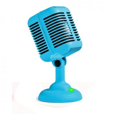"Mikrophon Lautsprecher ""Rockabilly"""