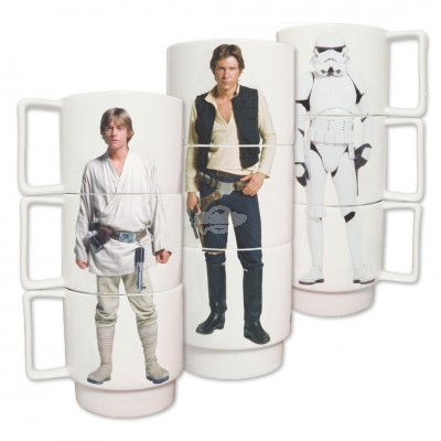 "Kaffeebecher ""Star Wars"" stapelbar"