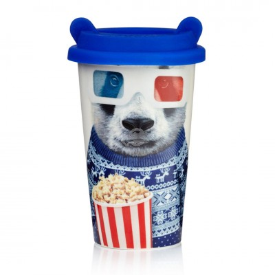 "Coffee-to-Go Becher ""Coffee Crew - Panda"""