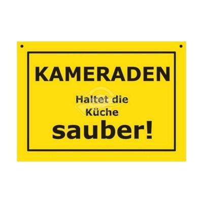"""Türschild Baustellenschild """"Kameraden"""" - Verbotene Schilder"""