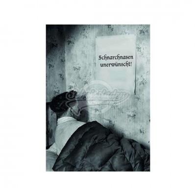 """Postkarte """"Schnarchnasen"""""""