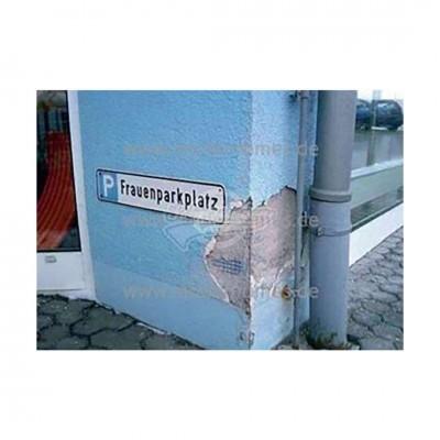 "Postkarte ""Frauenparkplatz"""