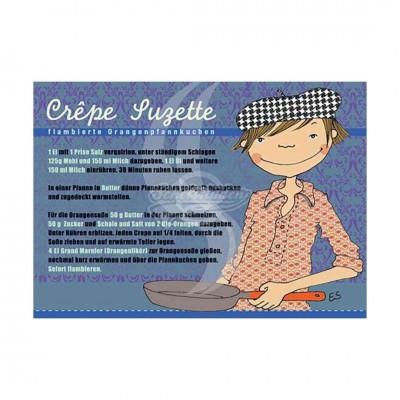 "Postkarte ""Crepe Suzette"" - Rezept"