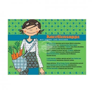 "Postkarte ""Karottensuppe"" - Rezept"