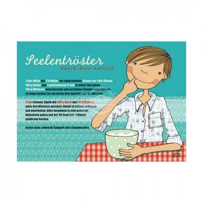 "Postkarte ""Seelentröster"" - Rezept"