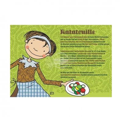 "Postkarte ""Ratatouille"" - Rezept"
