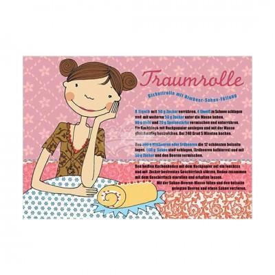 "Postkarte ""Traumrolle"" - Rezept"