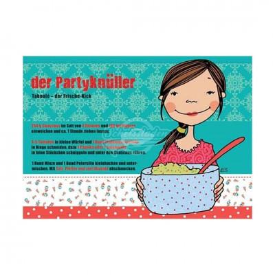 "Postkarte ""Der Partyknüller"" - Rezept"