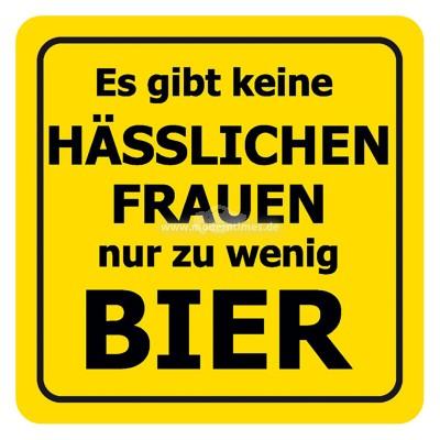 """Verbotene Bierdeckel """"Hässliche Frauen"""""""