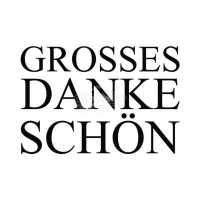 "Postkarte ""Grosses Dankeschön"""