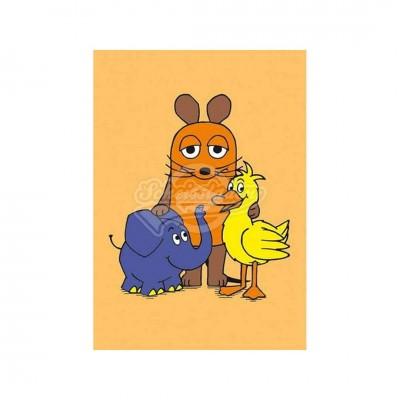 """Postkarte """"Maus und Co."""" - Sendung mit der Maus"""