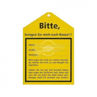 """Postkarte """"Bitte"""""""