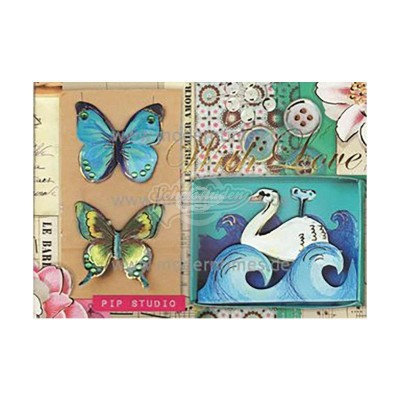 "Briefkarte ""With Love"" - PIP Studio"