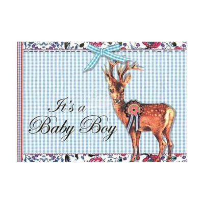 "Briefkarte ""Its a Boy"" - PIP Studio"