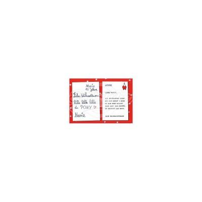 """Briefkarte Weihnachten """"Marie"""" - von Modern Times - scheissladen.com"""