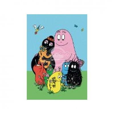 "Postkarte ""Familie"" - Barbapapa"
