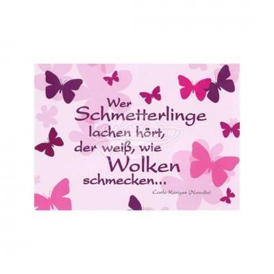 "Postkarte ""Schmetterlinge"""
