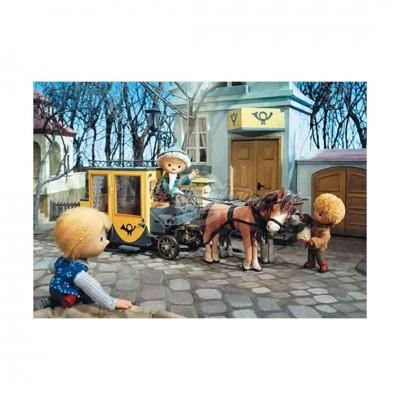 """Postkarte """"Sandmännchen auf Kutsche"""" - Das Sandmännchen"""