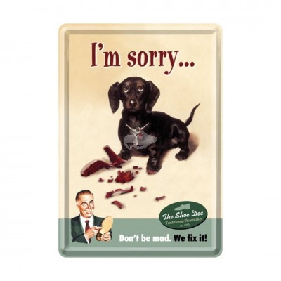 "Blechpostkarte ""Im Sorry"" Nostalgic Art"