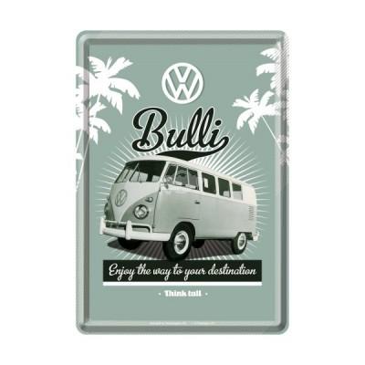 "Blechpostkarte ""VW Bulli - Enjoy"" Nostalgic Art"