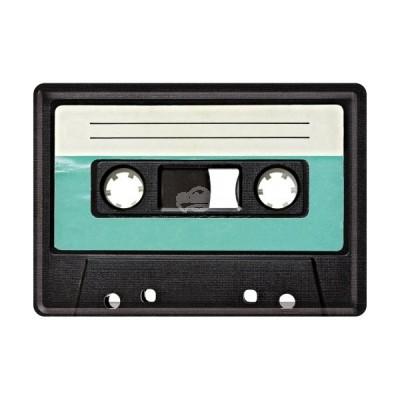 "Blechpostkarte ""Retro Casette"" Nostalgic Art"