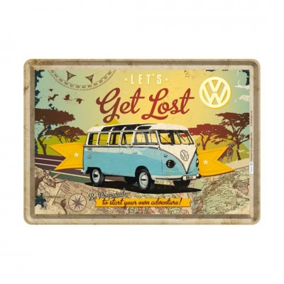 "Blechpostkarte ""VW Bulli"" Nostalgic Art"