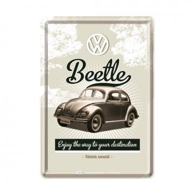 "Blechpostkarte ""VW Retro Beetle"" Nostalgic Art"