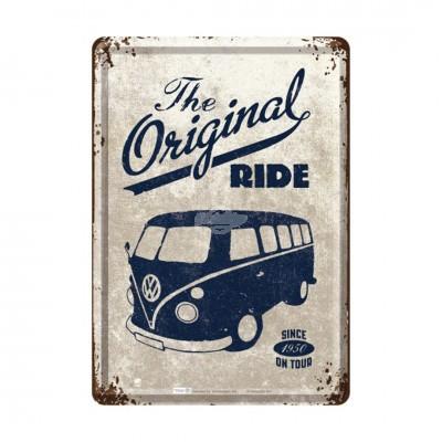 "Blechpostkarte ""VW Bulli - ride"" Nostalgic Art"
