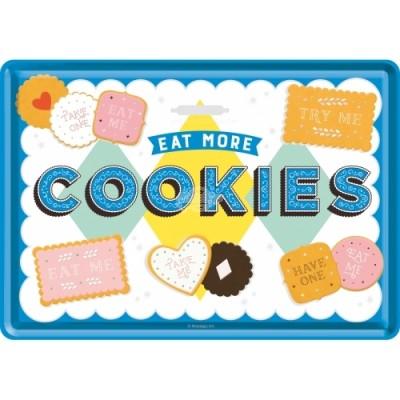 "Blechpostkarte ""Cookies"" Nostalgic Art"