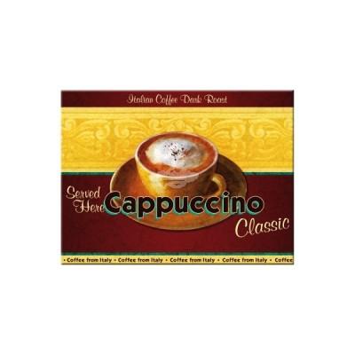 "Magnet ""Cappuccino - Coffee & Chocolate"" Nostalgic Art-Auslaufartikel"