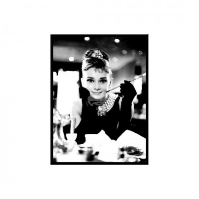 "Magnet ""Audrey Hepburn - Breakfast at Tiffanys"" Nostalgic Art"